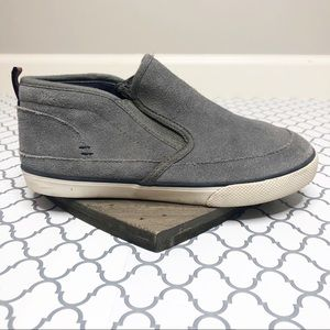 Hannah Anderson Ivar Boys Blue Suede Shoes (4)